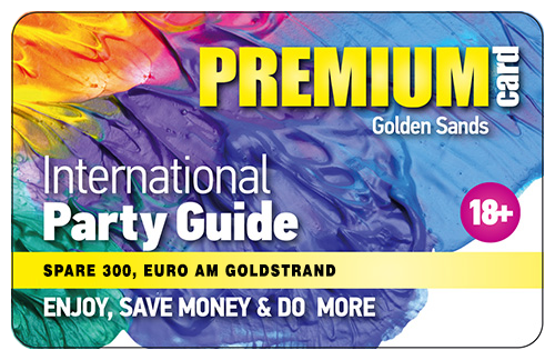 Goldstrand Golden Sands VIP Rabatt/Discount Card