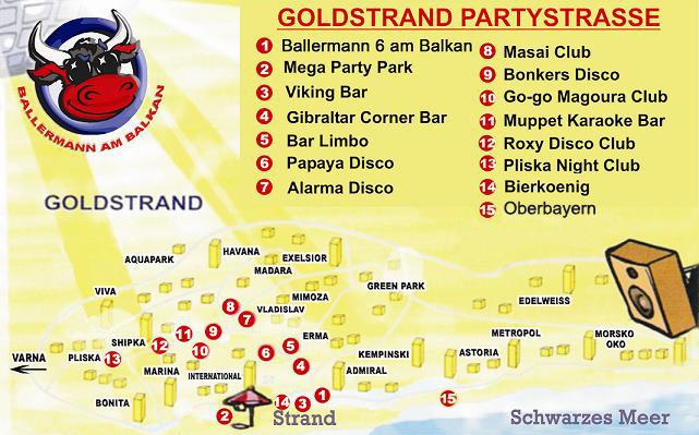 Goldstrand Bulgarien Partyurlaub Hotel Angebote 2020 Party In