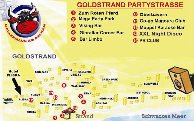 Goldstrand Karte