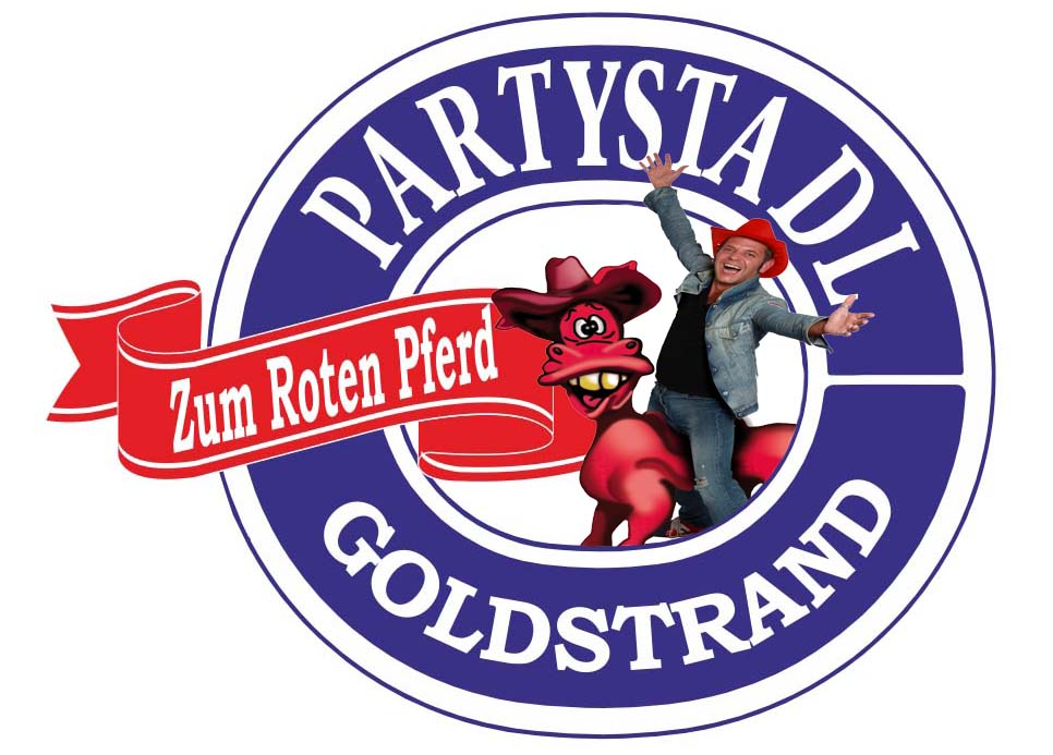 Goldstrand party logo