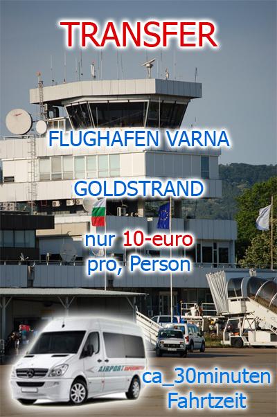 Flughafen Varna - Goldstrand Transfer Service